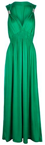 TrendyFashion - Robe -  - Uni Femme Vert - Vert jade