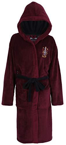 Harry Potter Hogwarts Gryffindor Bata Burdeos de Hombre Small/Medium