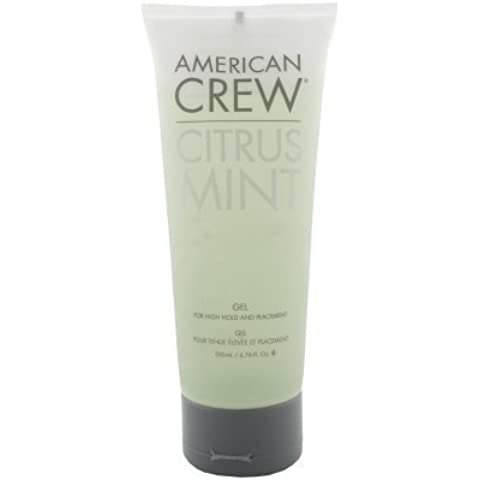 American Crew Citrus Mint Gel For High Hold and Placement 200ml / 6.76 fl.oz. by American Crew