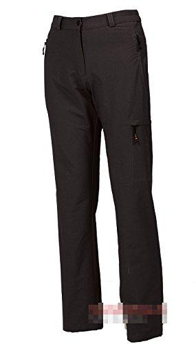 Hot de Sportswear BENIA Black Pantalon de randonnée Travel Pantalon Femme Noir Court Tailles, Noir