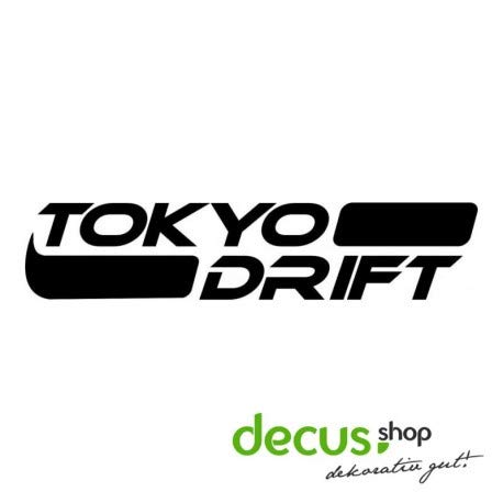 Tokyo Drift L 1150 // Sticker OEM JDM Style Aufkleber (braun) (Drift-autos Tokyo)