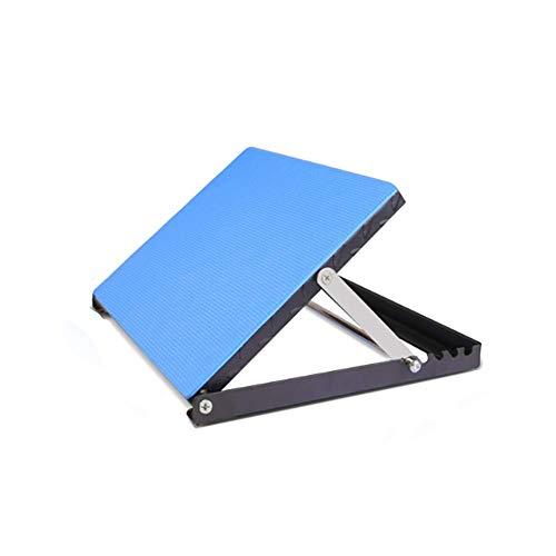 Koshsha Fußstrecher-Schrägbrett, 5 Winkel (0, 20, 25, 30 Und 40 Grad) Zusätzlich Kalbslinker-Stretching-Board Schmerzlinderung Ankle Corrector Foot Physio Equipment (Stretching-board)