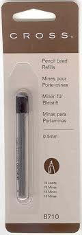 Cross Pencil Lead Refills 0.5mm 15 leads (Single)