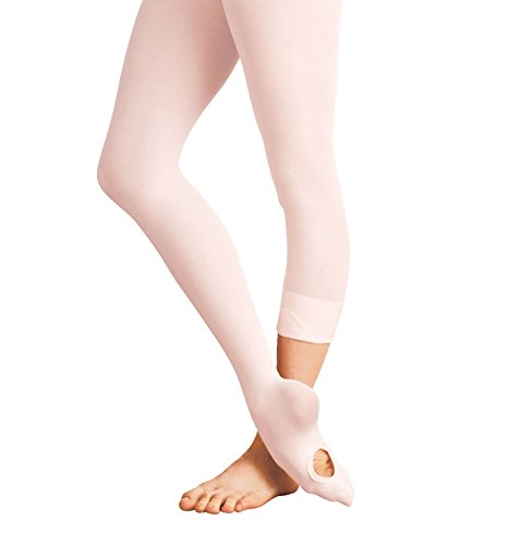 Mytoptrendz® Ladies Convertible Dance Tights Transition Foot Tights with Spandex Women Size by Mytoptrendz