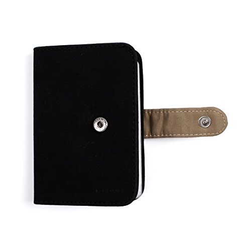 ECM14.01 Infinity Kunstleder Brieftasche / 4 Kartenhalter / 10 Extra ID Cases Von Epoint ECM1404-Schwarz Khaki