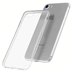 mumbi Protective Case for iPhone 4/4S, 5 °C, X 7, 7 Plus, 8/8 transparent UV beschichtet iPhone 8/7