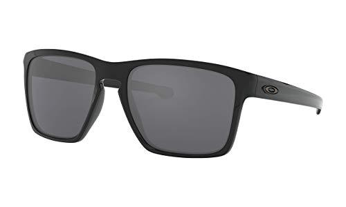 Oakley Sonnenbrille SLIVER XL, Schwarz (BLACK IRIDIUM), 57, OO9341-05