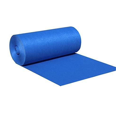 Blaue dicke Hochzeit Teppich Einweg Teppich Roll Rollenteppich jede Länge Non-Woven Läufer Hotel/Bühne/Hochzeit Teppich