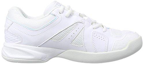 Wilson - Nvision Carpet Woman, Scarpe Da Tennis da donna Multicolore (White 001A)