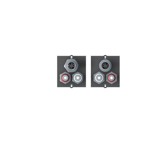BACHMANN - MODULO 1X S-VIDEO+1X RCA ESTEREO