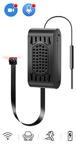 Mini Kamera,HelloCam HD 1080P Mini Überwachungskamera Tragbare WLAN WiFi knopfkamera IP Kleine Kamera P2P Drathlos mit Bewegungsmelder Mikrofon Videoaufzeichnung Handy übertragung akku