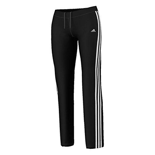 adidas Pantalon de sport droit pour femme Climacool Training 3S Core Noir/Blanc