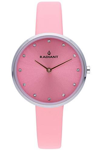 Radiant angelina orologio Donna Analogico al Al quarzo con cinturino in Pelle di vitello RA491601