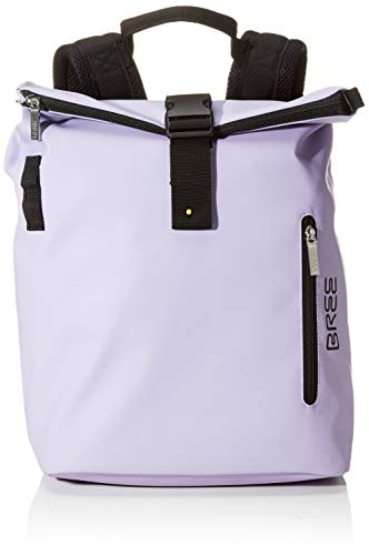 BREE Unisex-Erwachsene Punch 713, Backpack M W19 Rucksack, Violett (Lavender), 15x42x34 cm