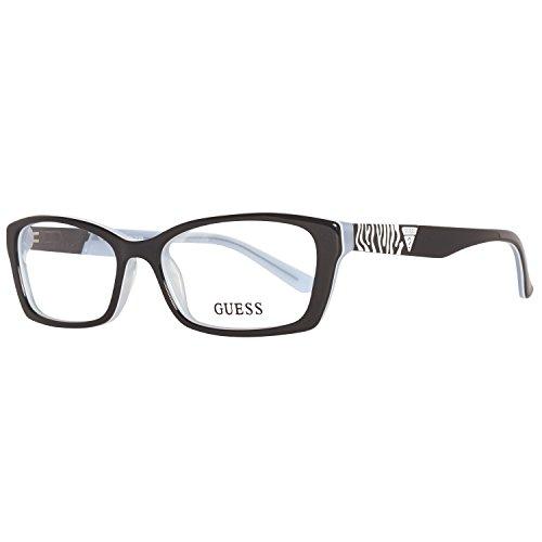 GUESS Brillengestell GU 2352 Schwarz/Weiß 52MM