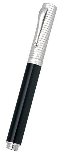 montegrappa-espressione-duetto-black-grey-resin-sterling-silver-rollerball-pen-isnpcrsc