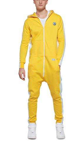 Onepiece Damen Jumpsuit Racer Gelb (Yellow)