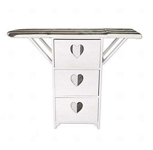 Casa y Menaje Mueble Tabla de Planchar cajonera 3 cajones (Medidas:104x34x83cm)