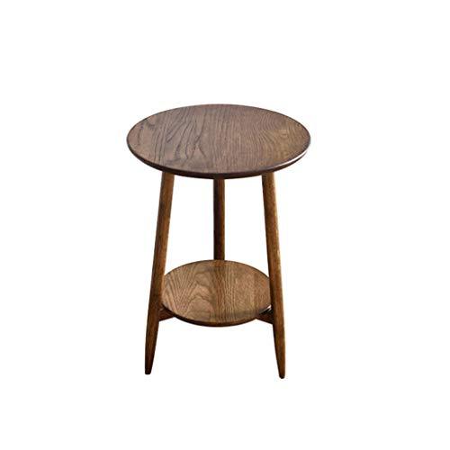 Runder Nachttisch Sofa Table Study Table Kleiner Esstisch Schlafzimmer Wohnzimmer Kleiner Tisch Leserahmen tragbarer tisch (Farbe : B, größe : 42 * 60CM) - 42 Runde Esstisch