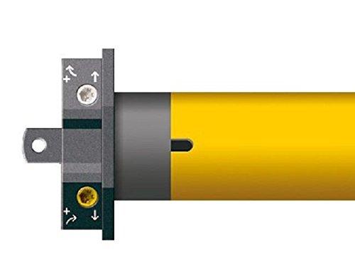 Schellenberg 20641 Motor tubular y sistema de mando para persianas, 60 kg, 40 Nm