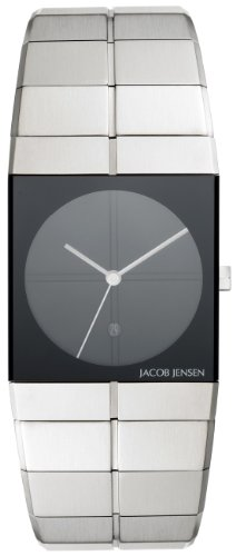 Jacob Jensen Men's Quartz Watch Icon 32210s with Metal Strap