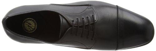 Hudson London Griffiths K201010 Herren Schnürhalbschuhe Schwarz (Black)