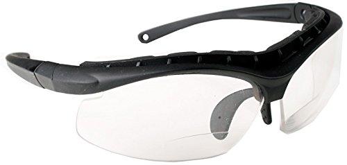 VAPRO Bifokale Sonnenbrille Sport SRG, Schwarz, 2.5