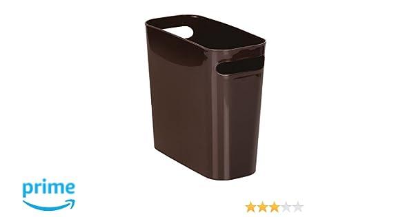 Mdesign bidone spazzatura ideale come cestino spazzatura o