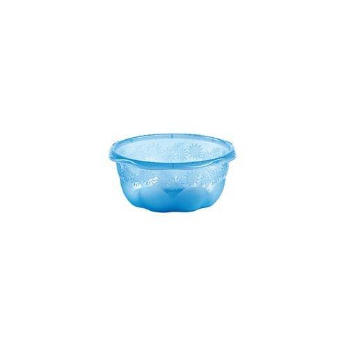 Stefanplast Fiorella Bol, 30 cm, Transparent/Transparent Magenta/Vert Fluo