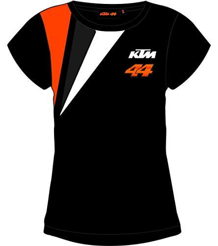 T-Shirt Schwarz für Damen KTM POL ESPARGARO' - Offiziell 2019 Medium -
