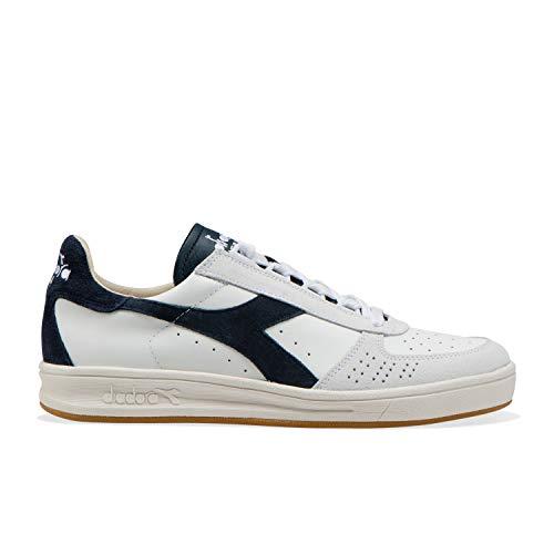 diadora sneakers uomo b.elite 172545 bianca/blu