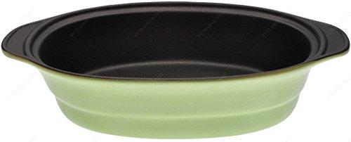 M.V. Trading Lasagne-/Auflaufform Gratin Backform, Set von 2 grün Petite Au Gratin Dish