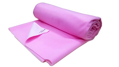Quick Dry Quick Dry Plus Waterproof Bed Protector Large Pink