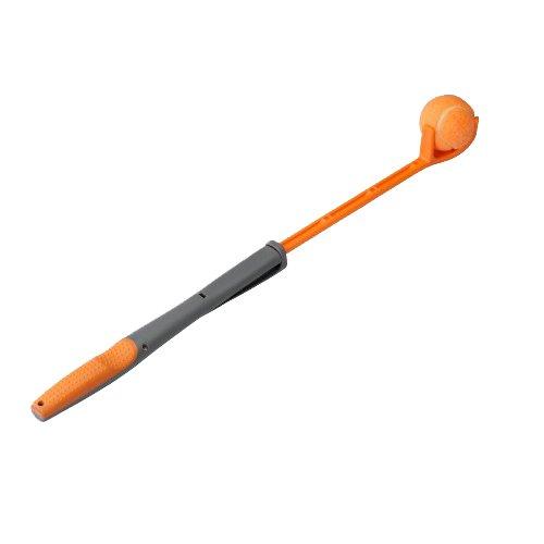 EBI 309-422403 Ballschleuder ausziehbar 43-67 cm, orange