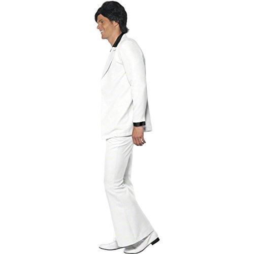 Imagen de traje de fiebre del sábado noche de los años 70 80 disfraz john travolta vestuario disco alternativa