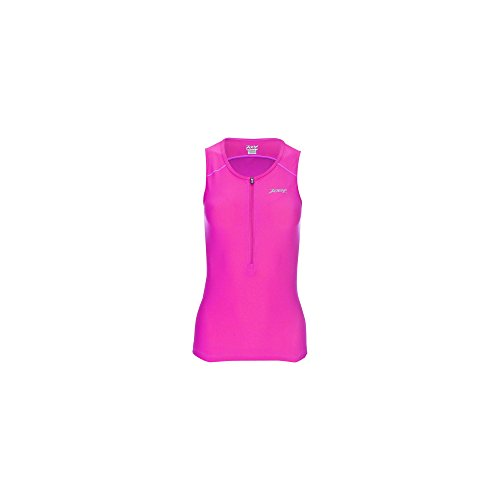 Zoot Damen Active Tri Mesh Tank, Damen, Rose, Large -