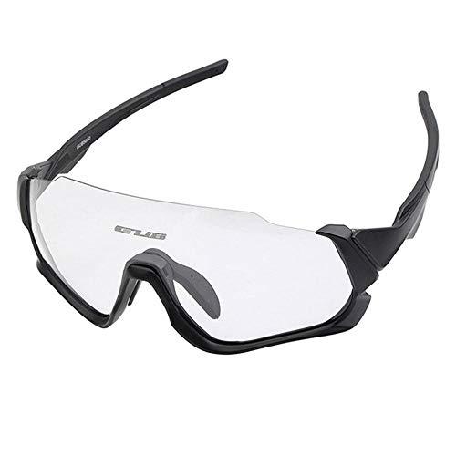 Hamkaw Smart-Fahrradbrille, Photochromatische Linse, polarisierte UV400-Sonnenbrille mit Myopie-Rahmen für Männer und Frauen, Outdoor-Angeln, Golf, Strand, Baseball, Reitsport