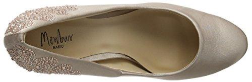 Menbur Nogueras, Chaussures à talons - Avant du pieds couvert femme Beige - Taupe
