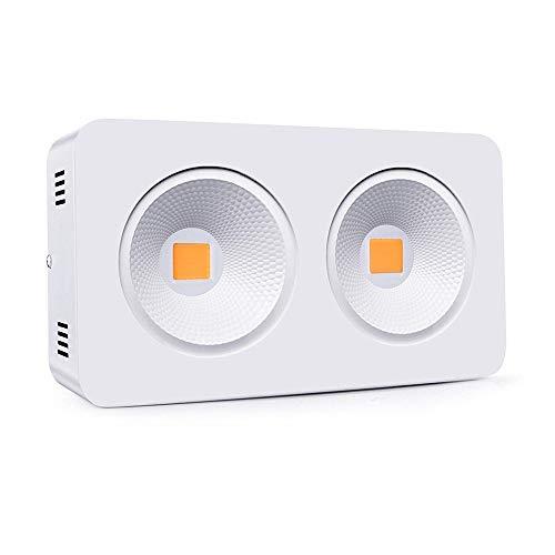 KJRJZW LED wachsen Licht 400W wachsen Lampe Vollspektrum wachsende Lichter for Zimmerpflanzen Gewächshaus Hydroponic Gemüse und Blüte -