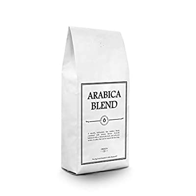1kg Arabica Coffee Beans - Freshly Hand Roasted | Rich & Intense Flavour | Date Stamped & Artisan Roasted Here in The UK from Roast Shop Coffee