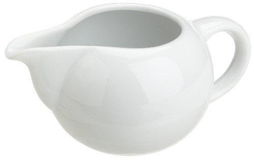 Kitchen Supply 8129 White Porcelain Creamer by Kitchen Supply Porcelain Creamer