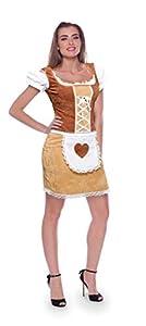 Folat 63393 - Disfraz para mujer, multicolor