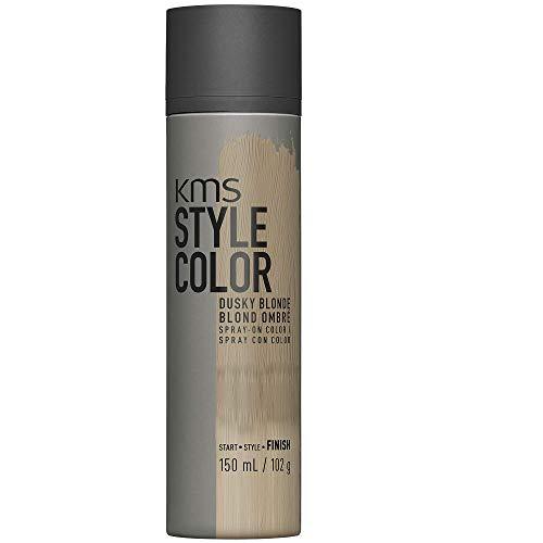 KMS California Style Color Dusky Blonde temporäres Farbspray - Haarfarbe ohne sich festzulegen, 150 ml (Temporäre Schwarz Haar Color Spray)
