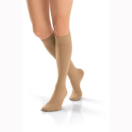 BSN medical 115754Jobst Kompression Schlauch mit geschlossener Zehenbereich, kniehoch, groß, 15-20mmHg, Midnight Navy -
