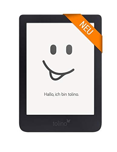 Tolino Shine 3 eBook-Reader Touchscreen 8 GB schwarz – E-Reader (15,2 cm (6 Zoll), E Ink Carta, 1072 x 1448 Pixel, Bildschirmgröße DRM, PDF, TXT, 8 GB, 25 GB)