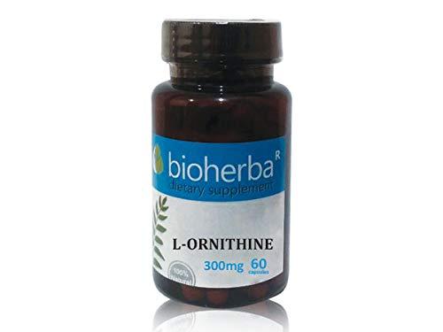 L-Ornithin, Bioherba, 60 Kapseln, 300 mg