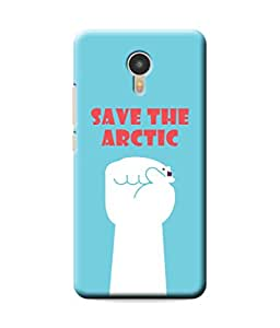 Be Awara Save The Arctic Designer Mobile Phone Case Back Cover For Yu YUNICORN