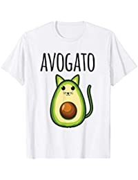 Avogato Shirt For Women Funny Cinco De Mayo Meow Avocado Cat Camiseta