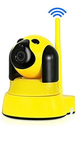 Home Sicherheit IP Kamera Wi-Fi Wireless Smart Pet Dog WiFi Kamera Video Überwachung 720P Nacht CCTV Indoor Baby Monitor,Yellow