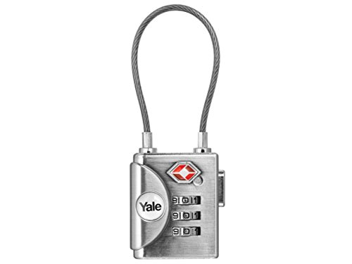 Yale Locks YALYTP332 TSA - Candado grillete blando, 32 mm